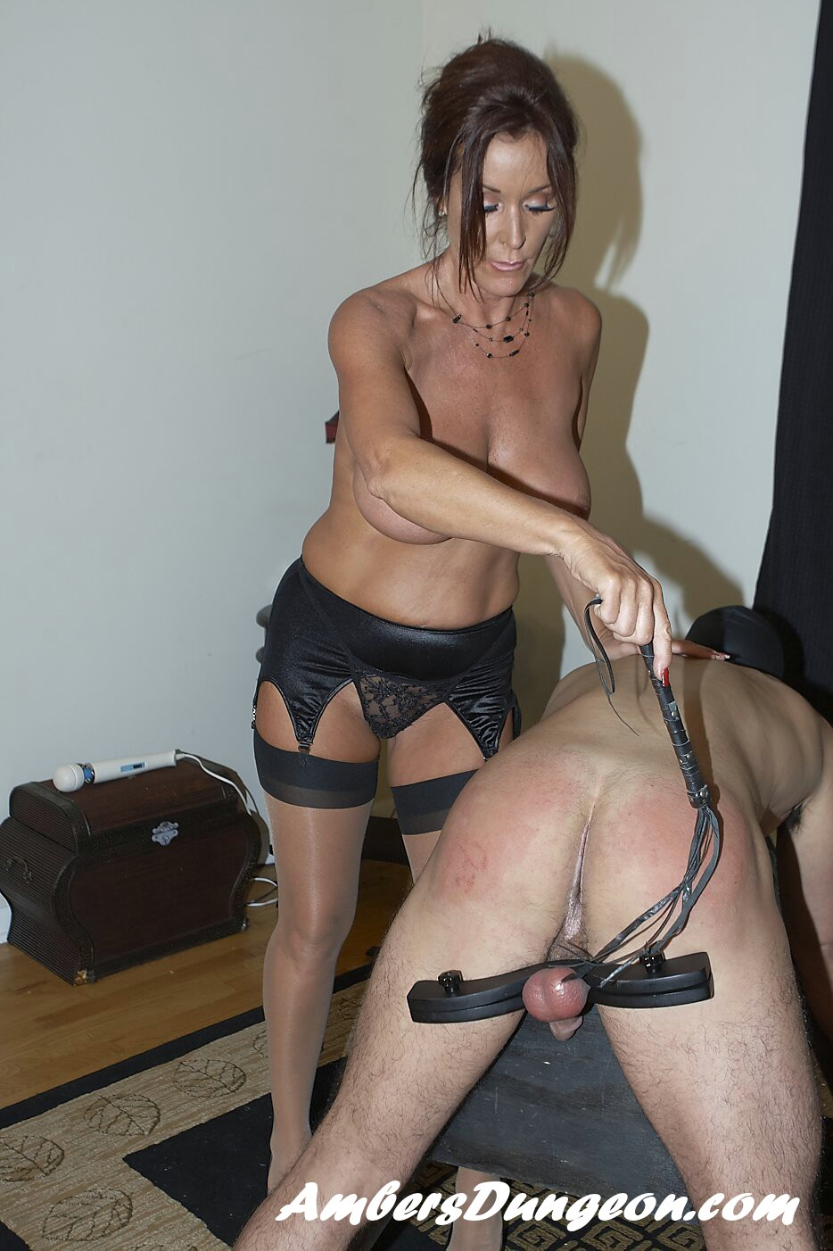 Rachel steele milf femdom on stud slave 8